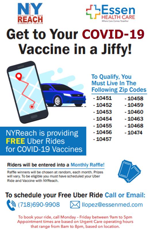vaccination ride